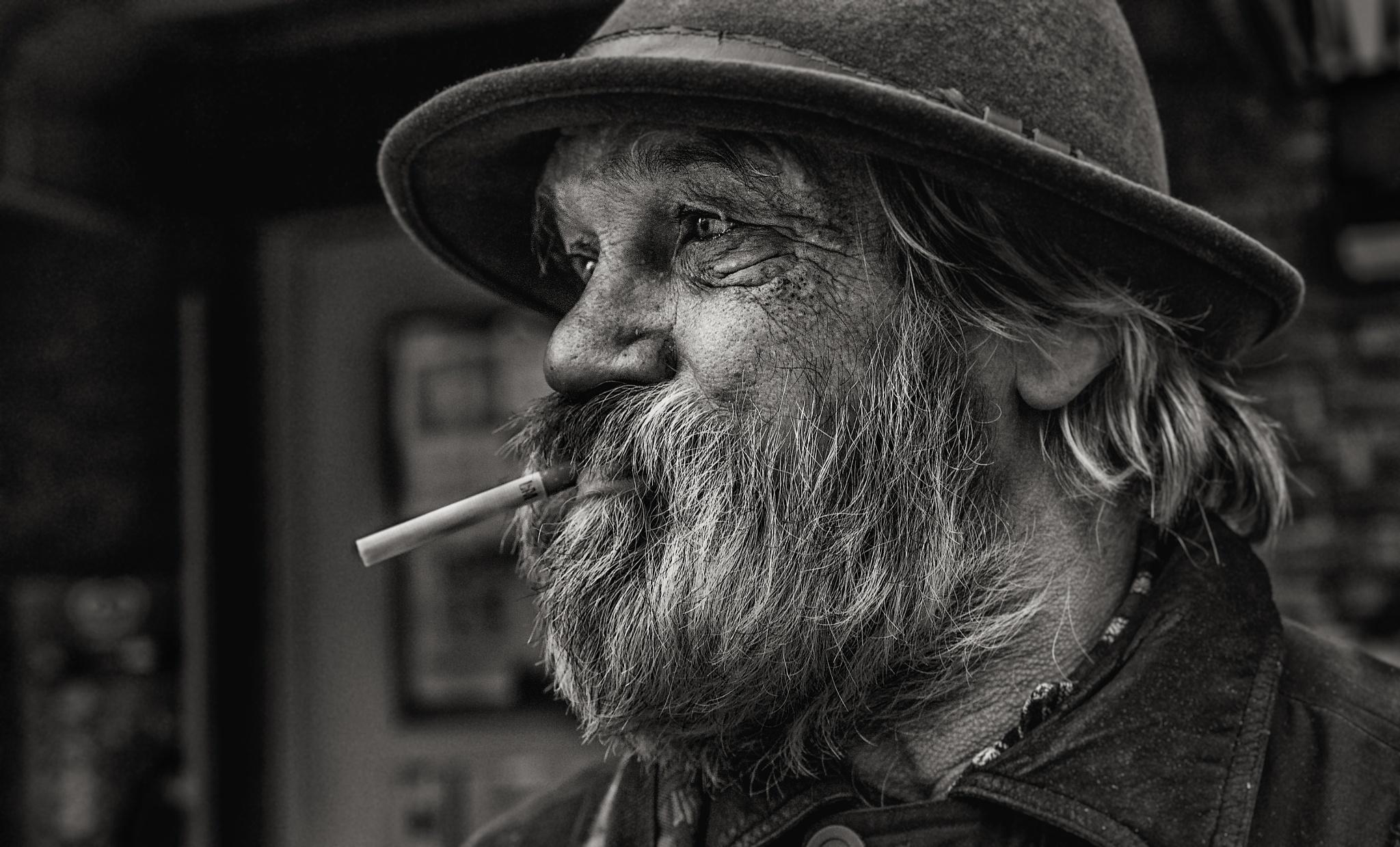 Homeless Dane in Germany by Mikkel