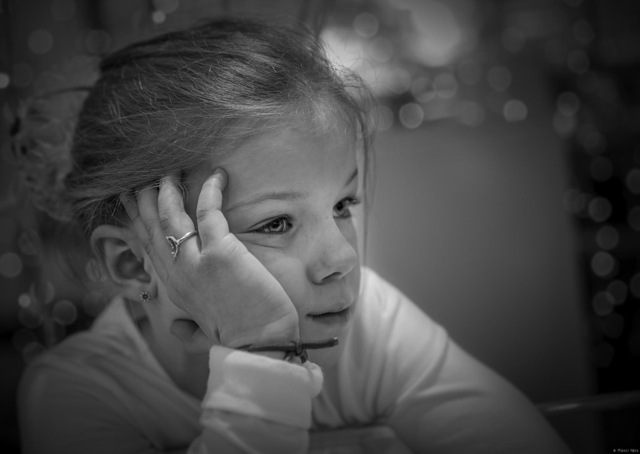 Tired Ballet Girl by Mikkel