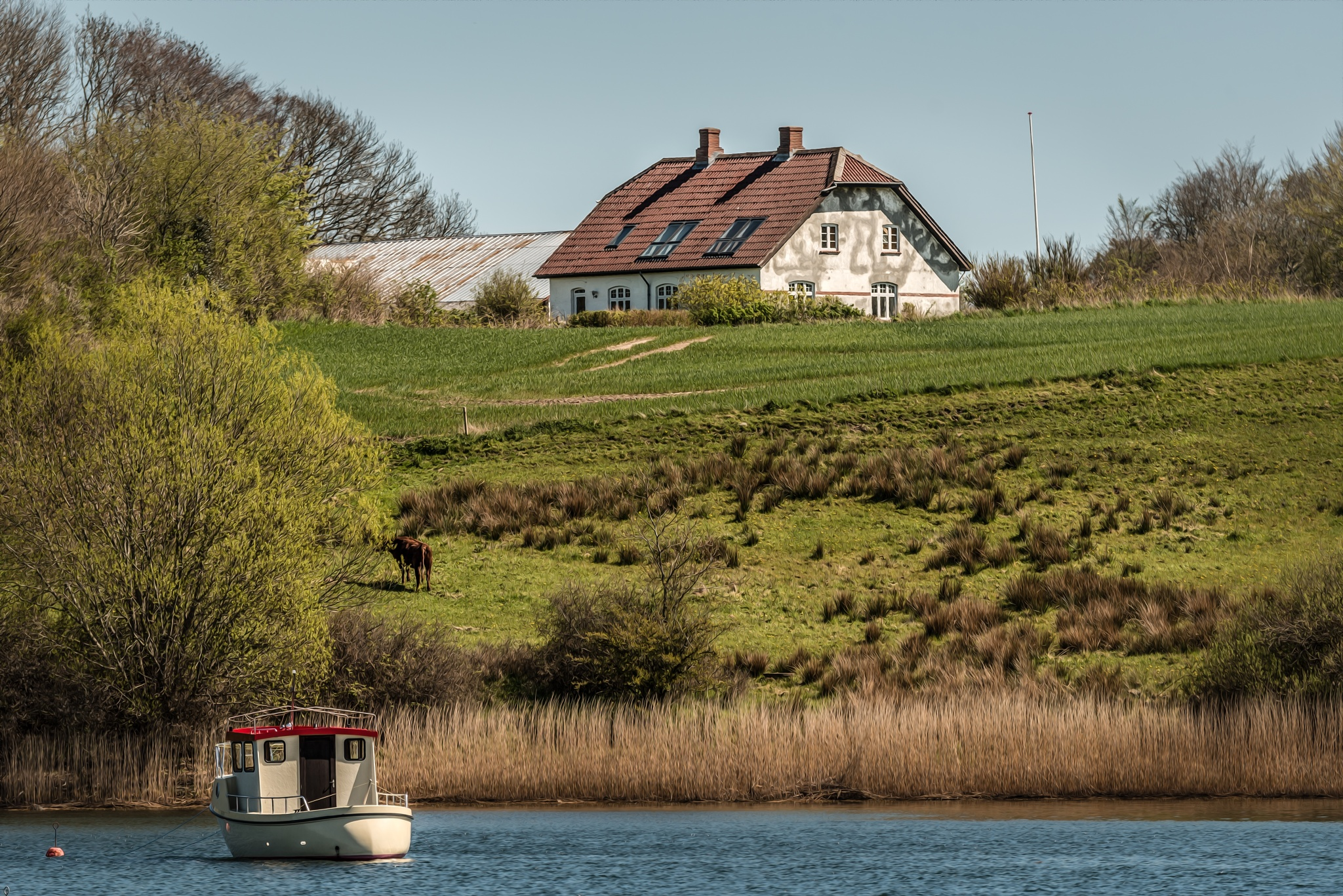 House on Hill by Mikkel