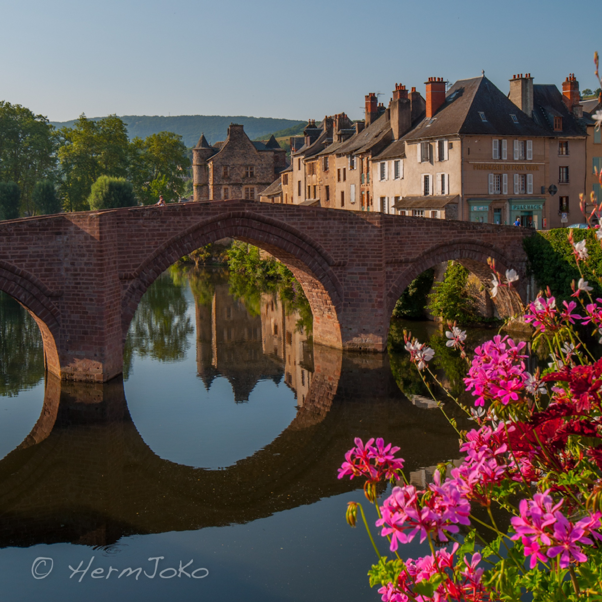 #87   Espalion, France by HermJo Koch