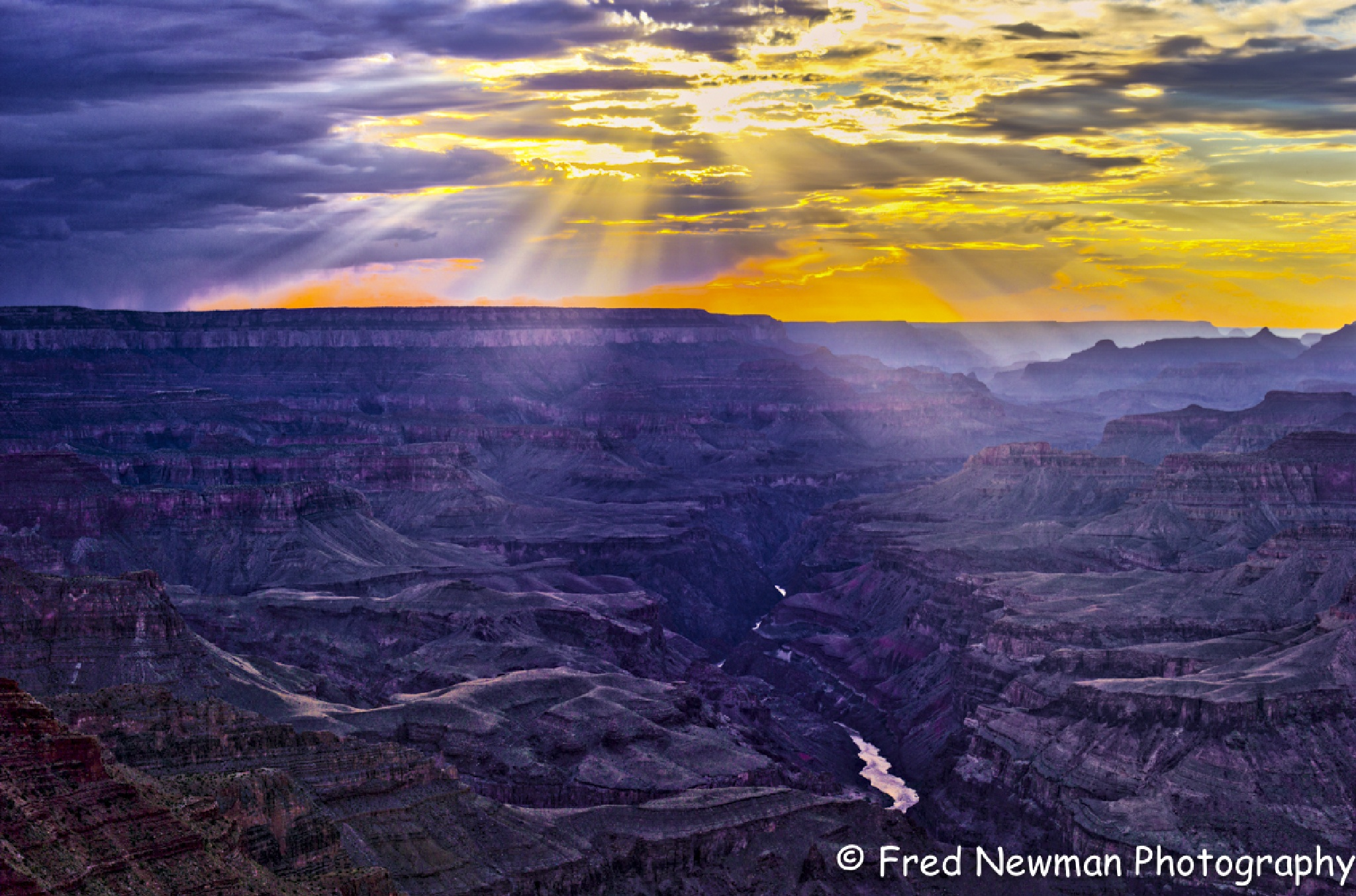 Grand Canyon Sunset by FredNewman
