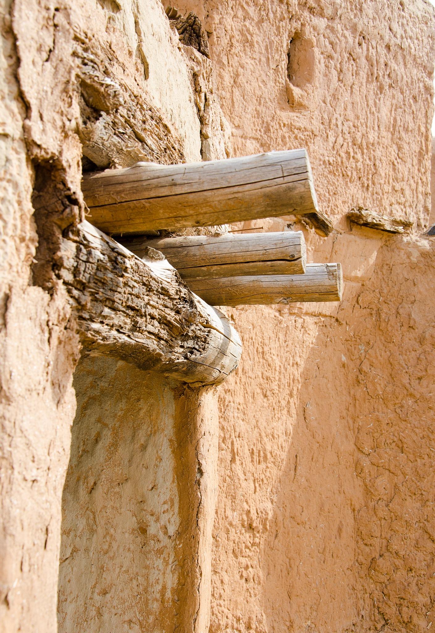 logs in clay by Eugene Danilenko