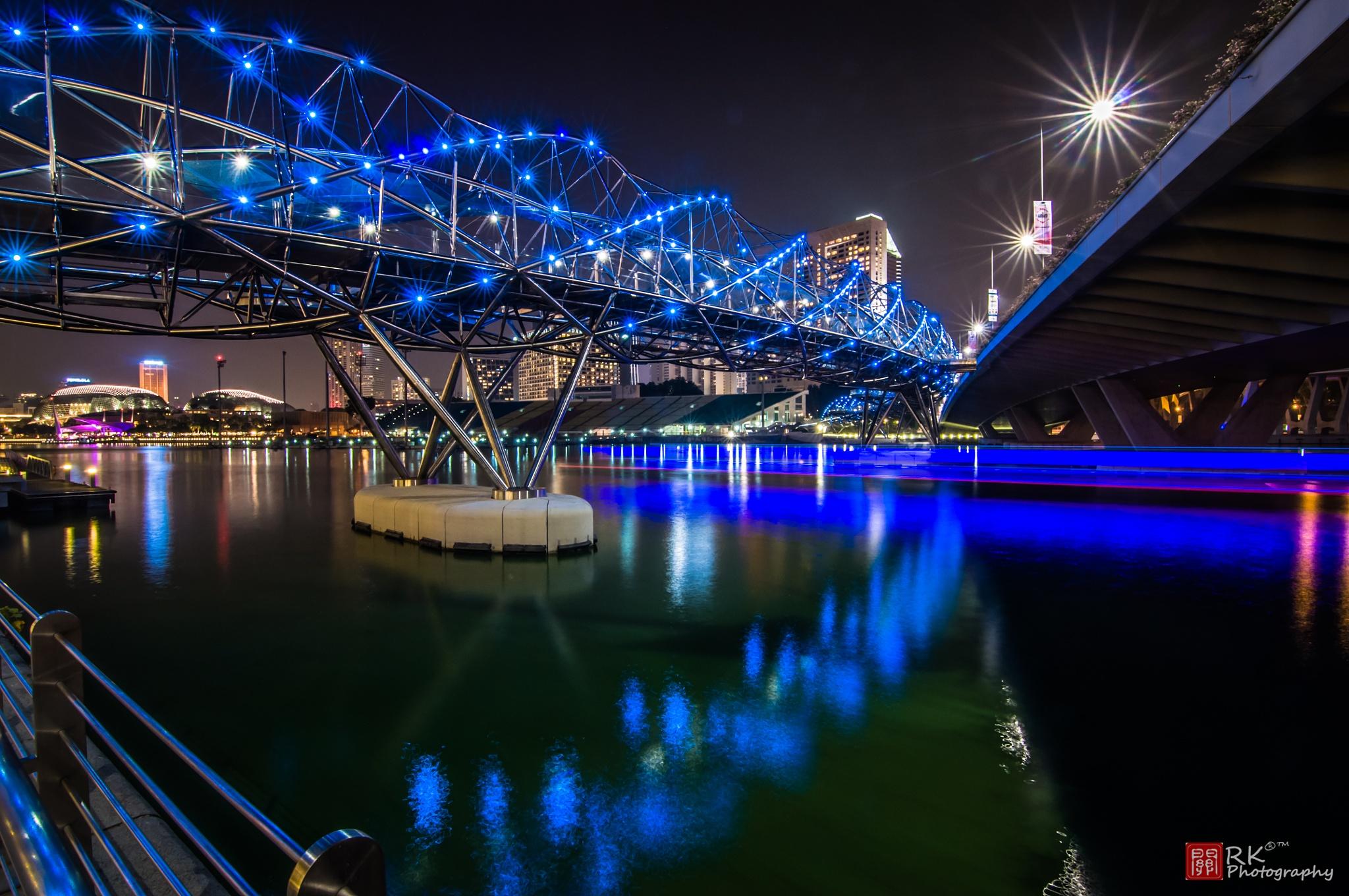 The Helix Bridge by Ricky Kuan