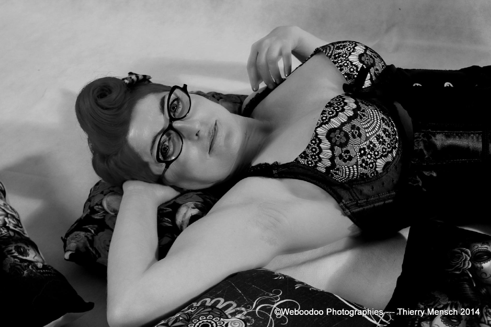 Photo in Black and White #pinup #portrait #girl #rockabilly
