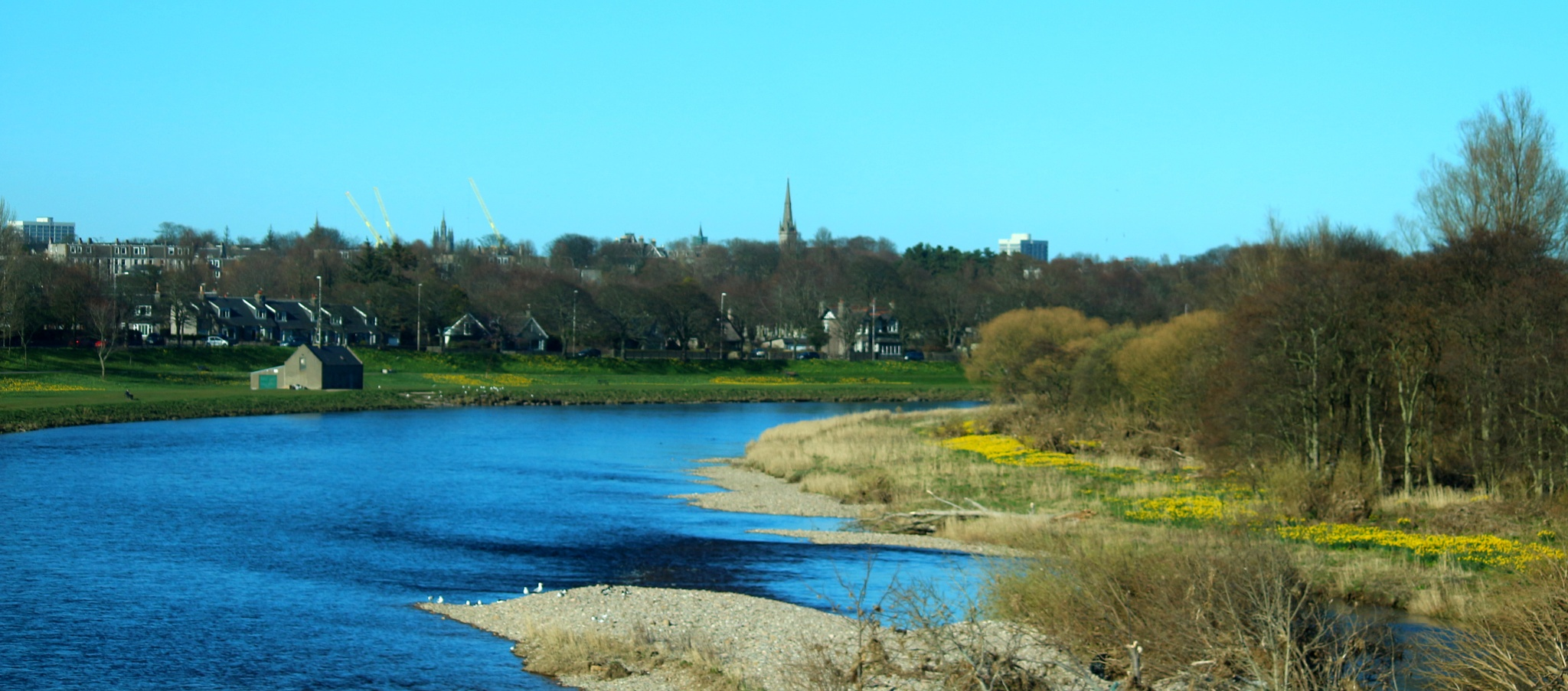 The River Dee by Marf