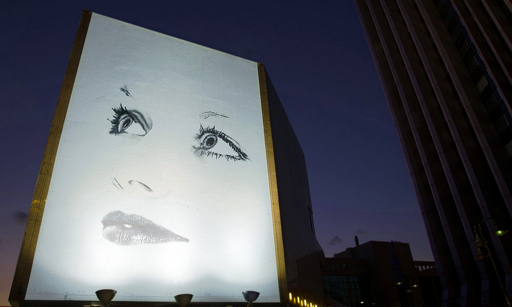 Evening billboard by ilseBodewes