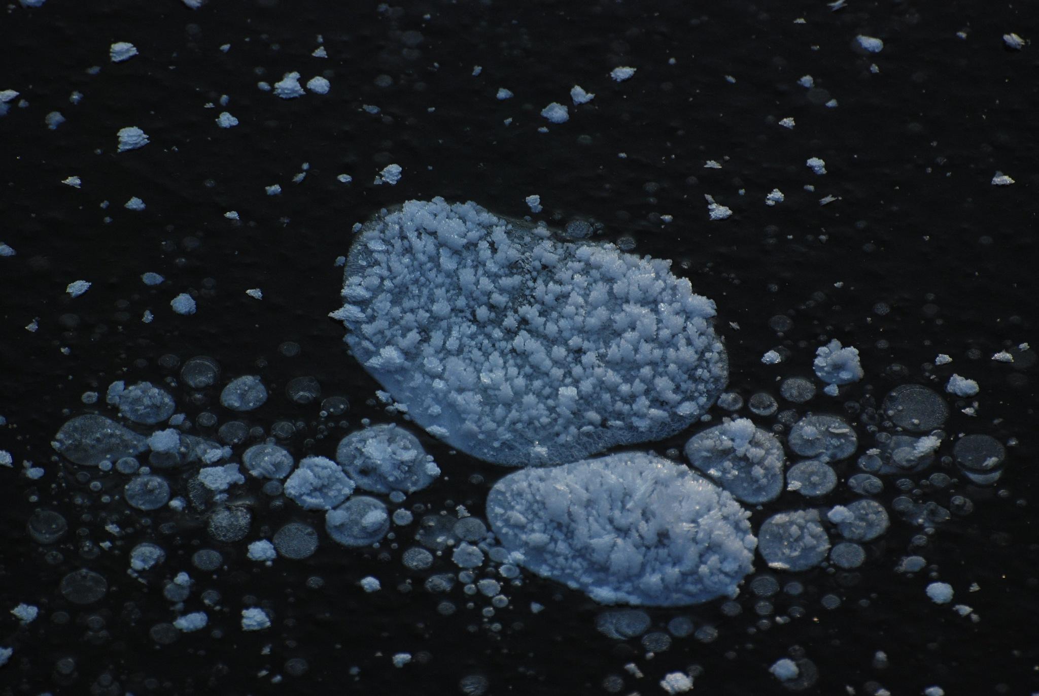 bevroren luchtbellen by ilseBodewes