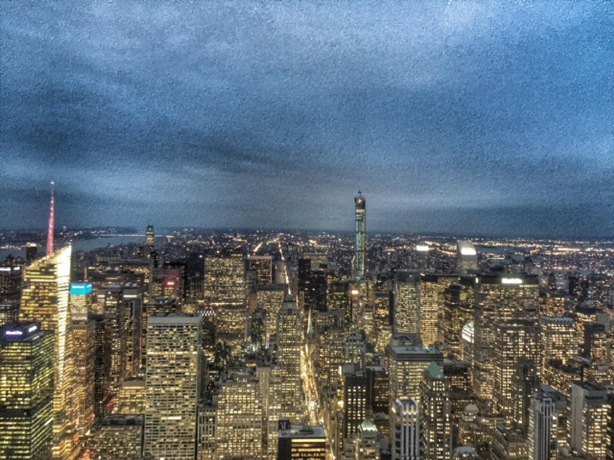NYC at Dusk by Paul Brown