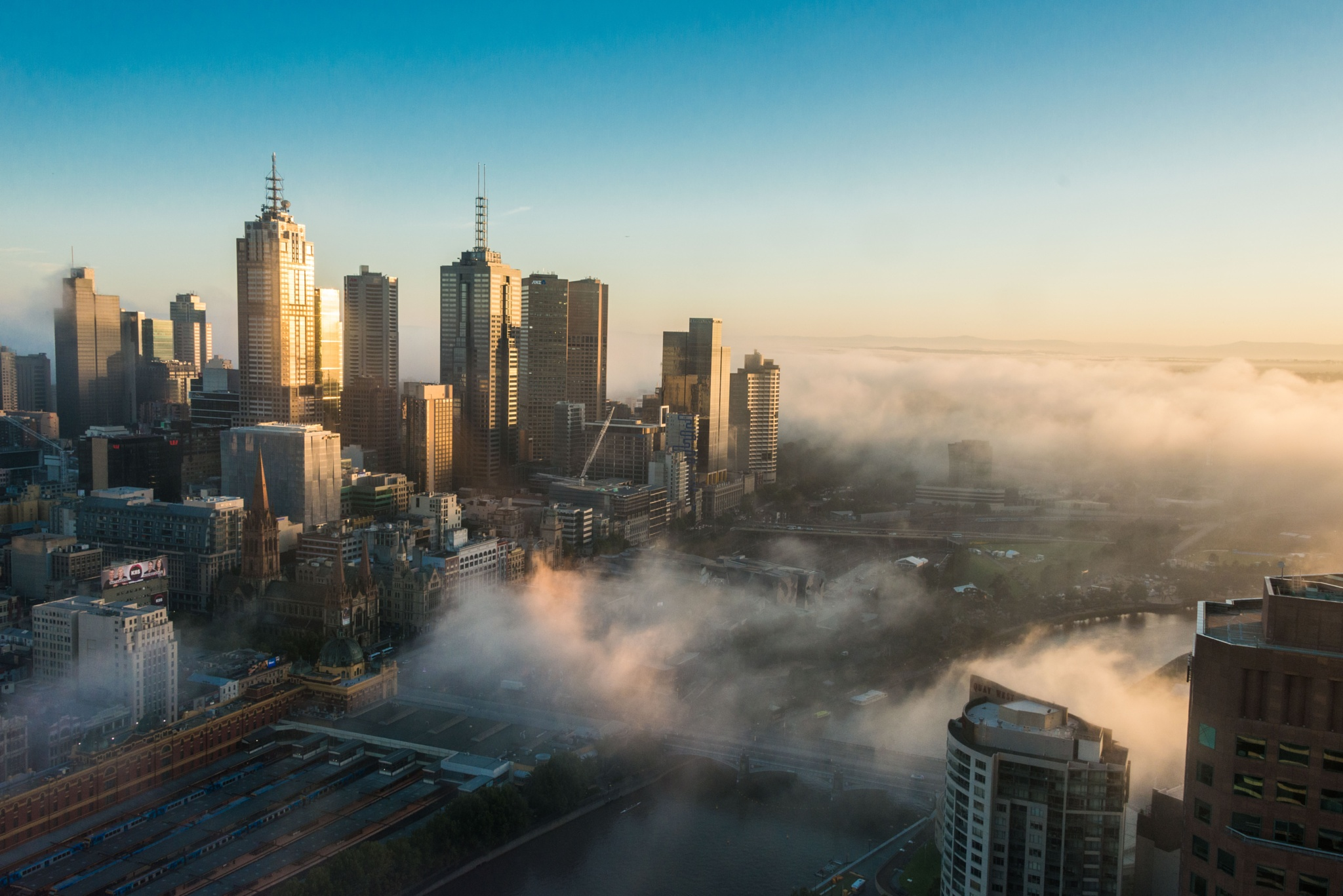 Foggy Melbourne by AlisonSwift