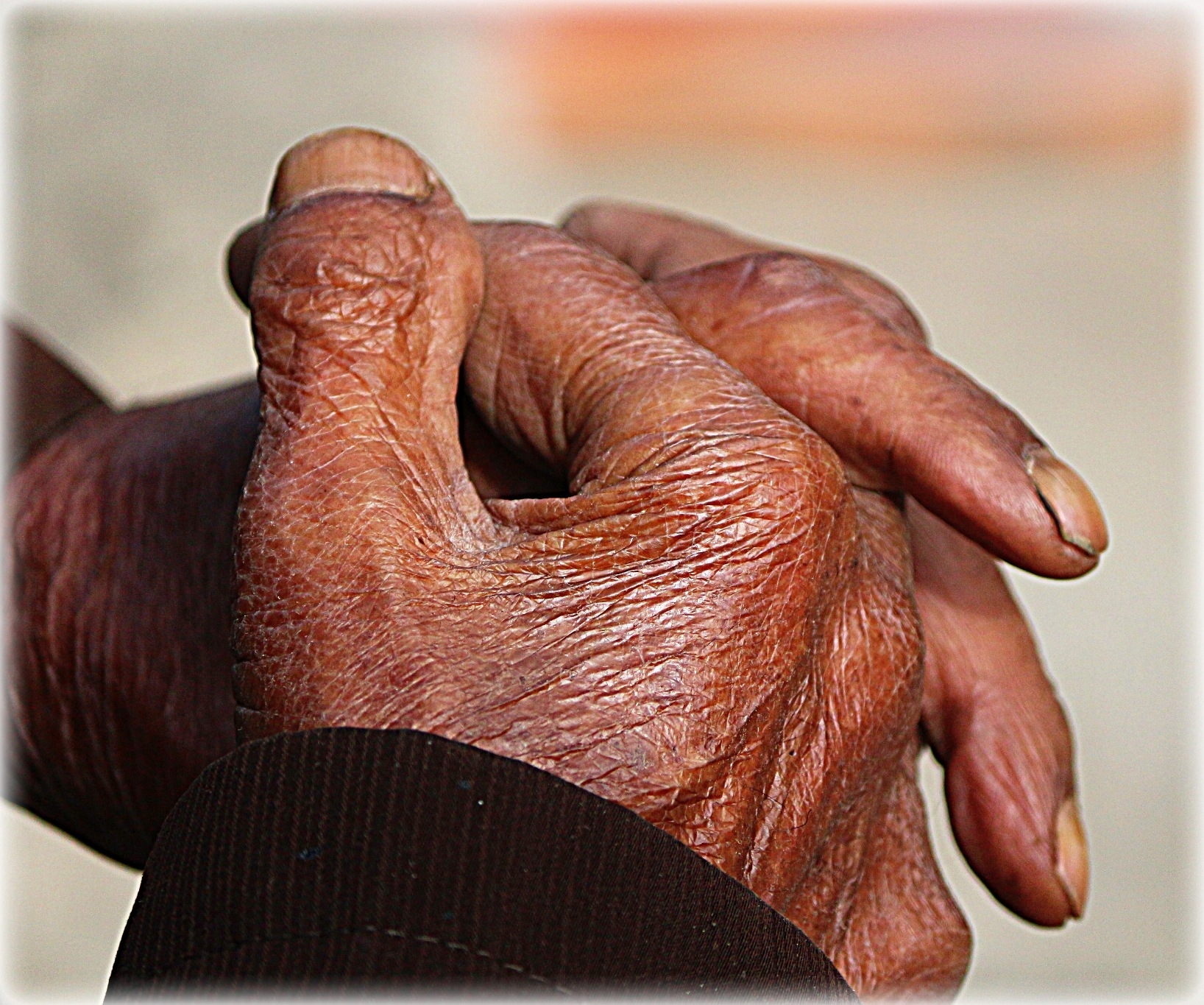 Old hand...  by Diana Nita