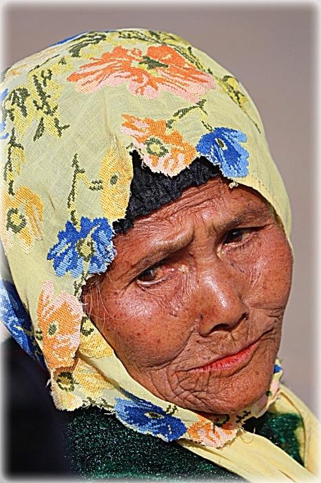 Portrait.... Old woman..  by Diana Nita