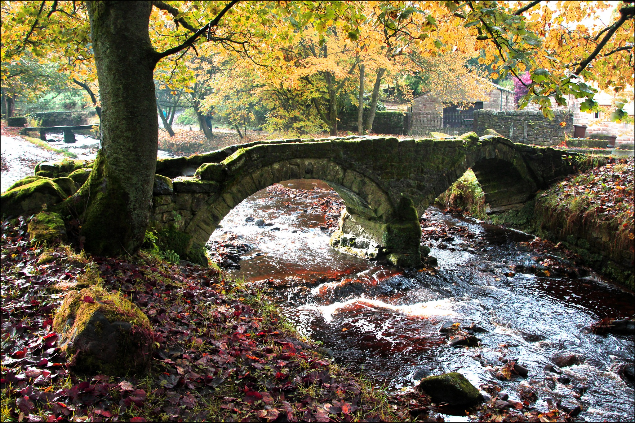 The old bridge Wycoller by TOZ