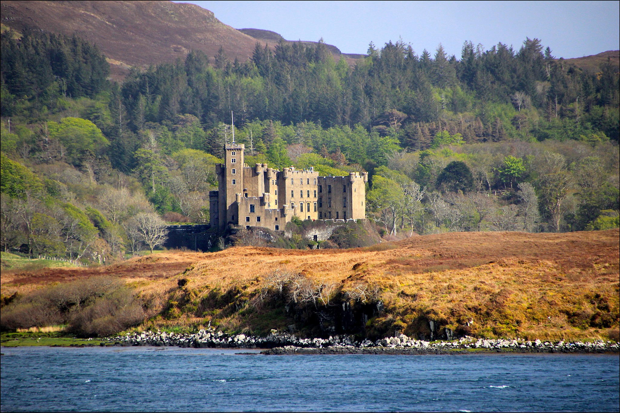 Dunvegan Castle by TOZ