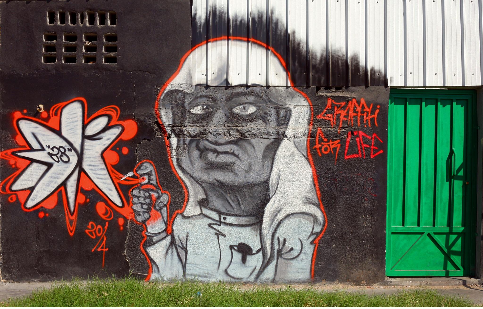 Art of Grafitti by Sadiq Ali AlQatari