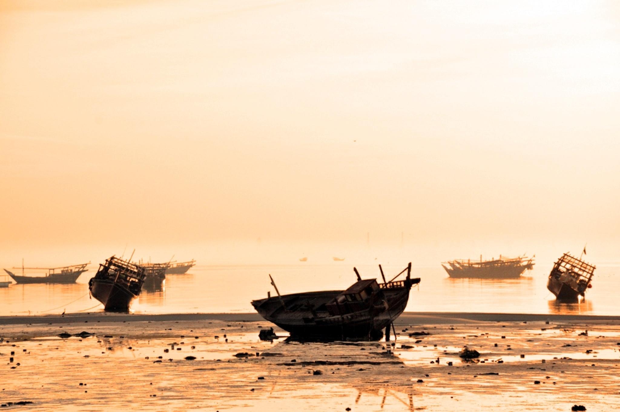 Qatif Seascape by Sadiq Ali AlQatari