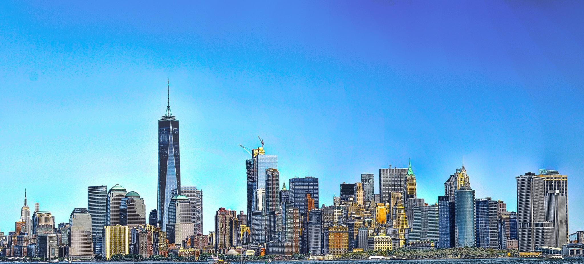 New York, NY by Sadiq Ali AlQatari