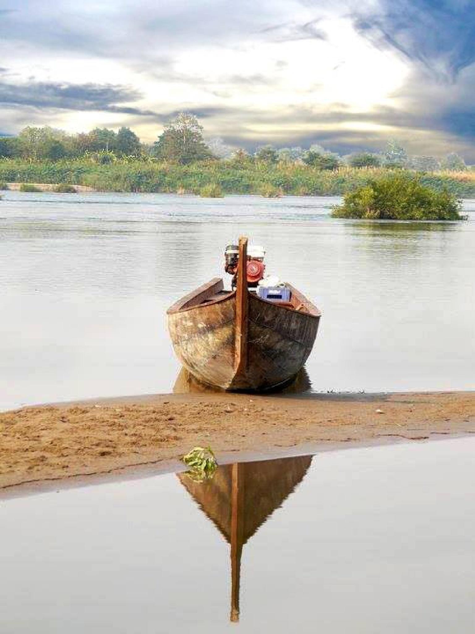 South Laos... Don Det by Doreen Ellul