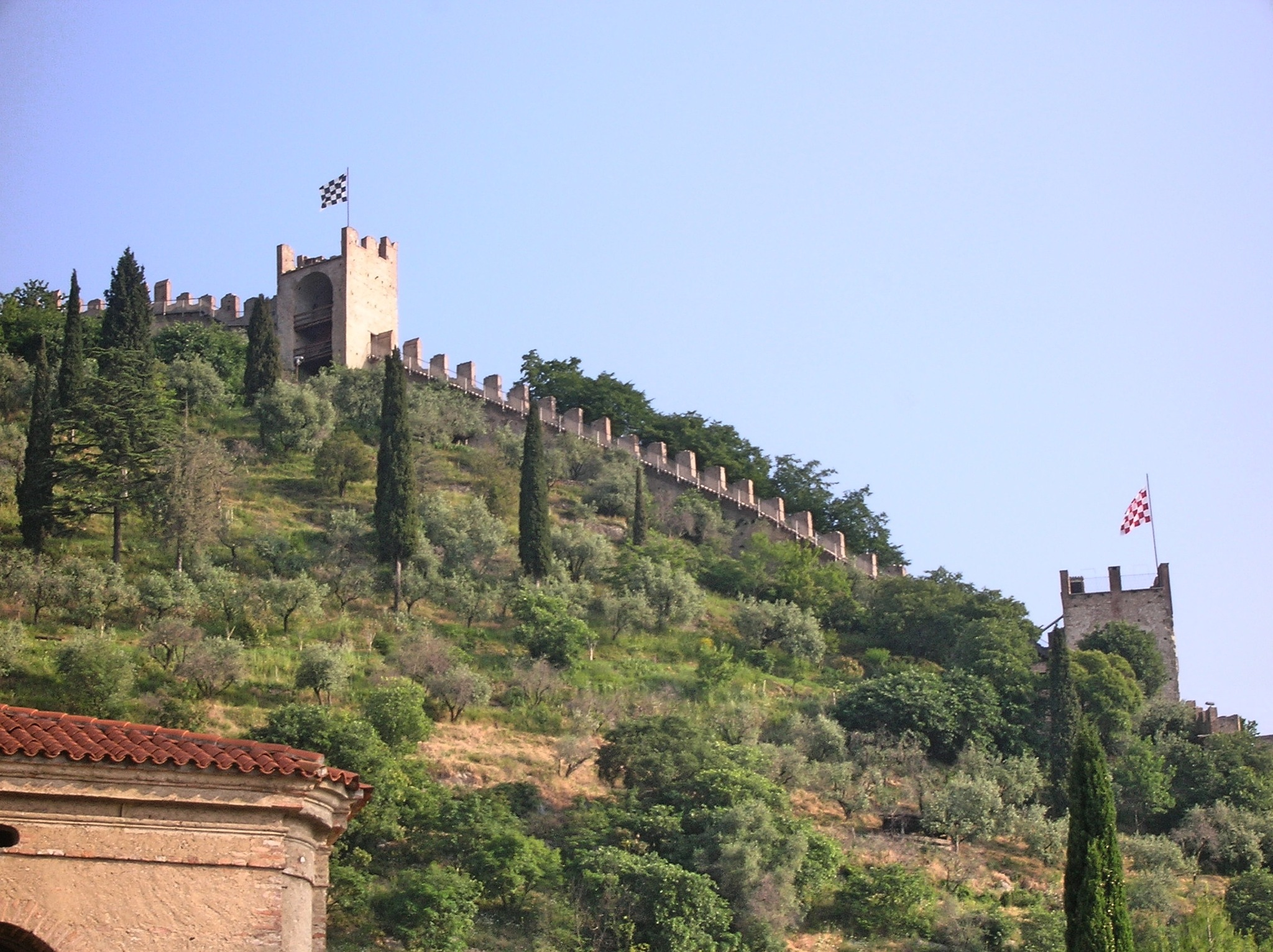 Marostica Town Wall by Craig Neve