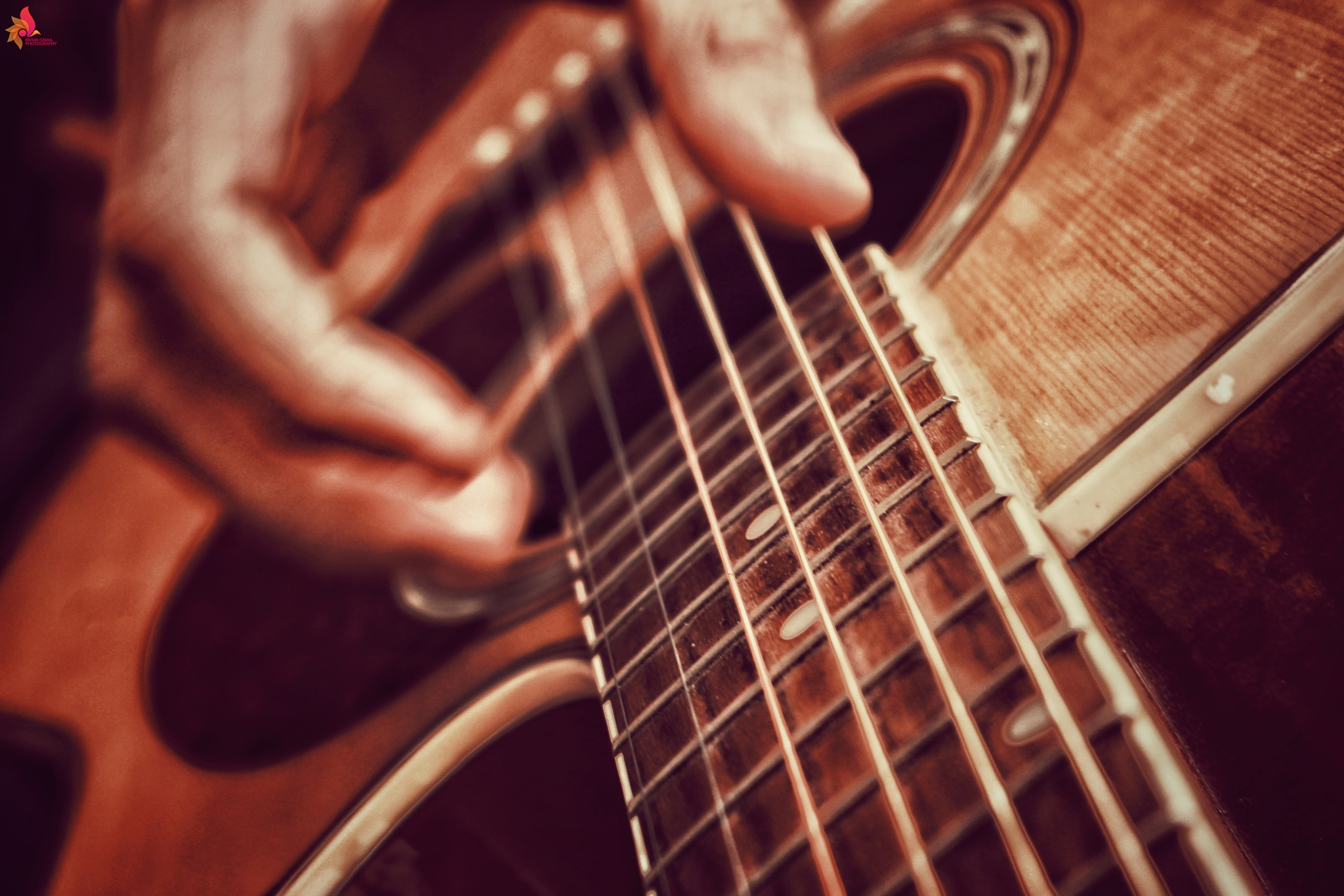 playing guitare by Ismail Brairi