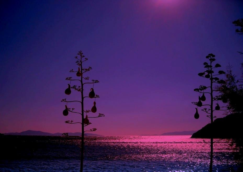 BEAUTIFUL SUNSET AT GUMUSLUK, BODRUM by Akin Saner