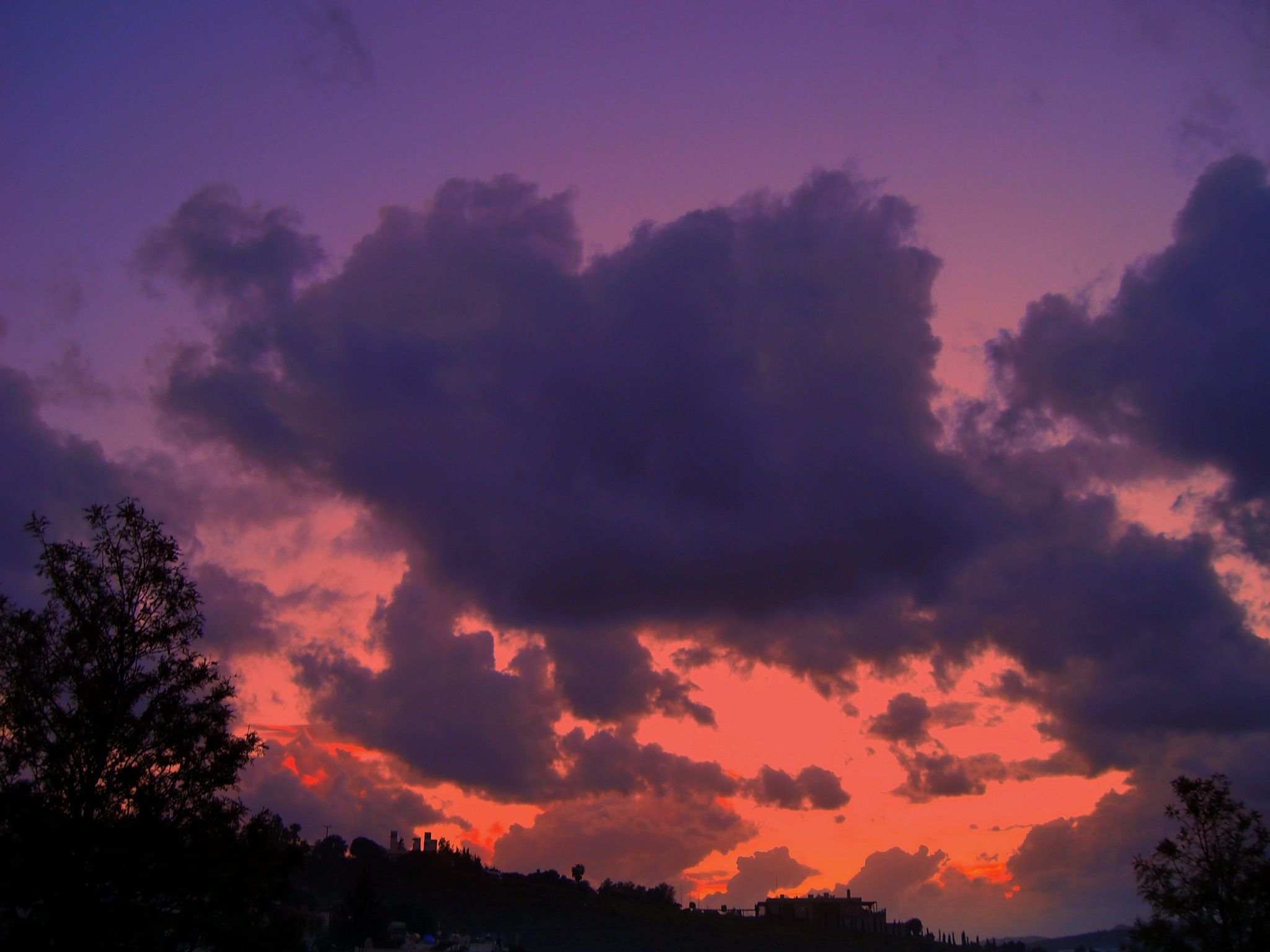GOOD NIGHT FROM BODRUM 780, TONIGHT'S SUNSET by Akin Saner