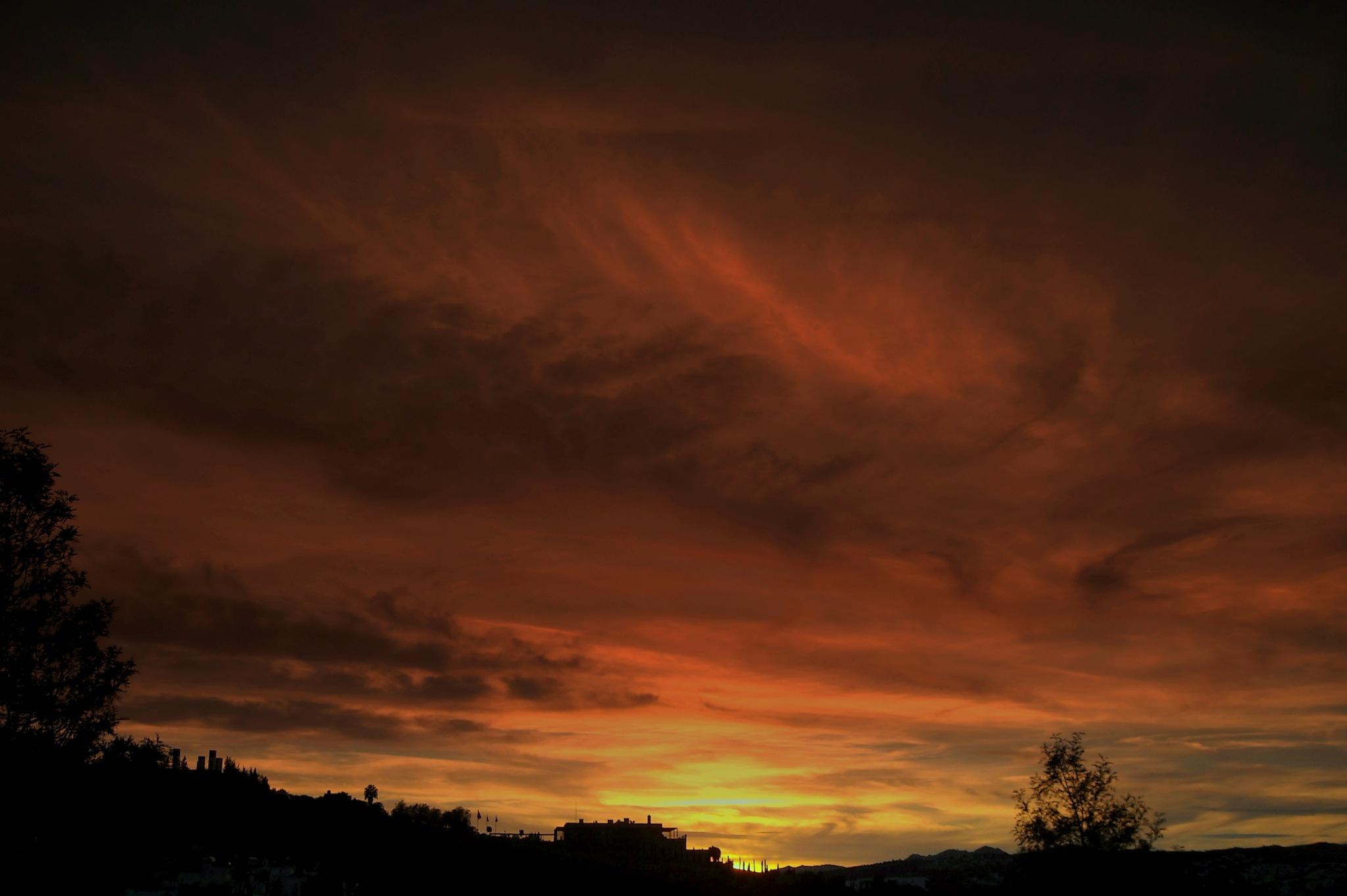 BEAUTIFUL SUNSETS OF BITEZ 12, FULL SCREEN by Akin Saner