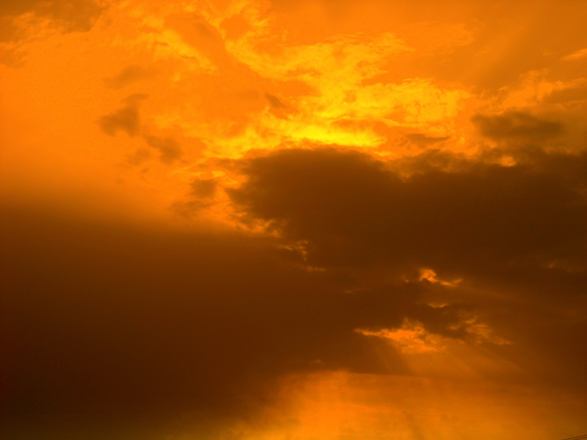 WHEN THE SUN HIDES BEHIND THE CLOUDS, FULL SCREEN by Akin Saner