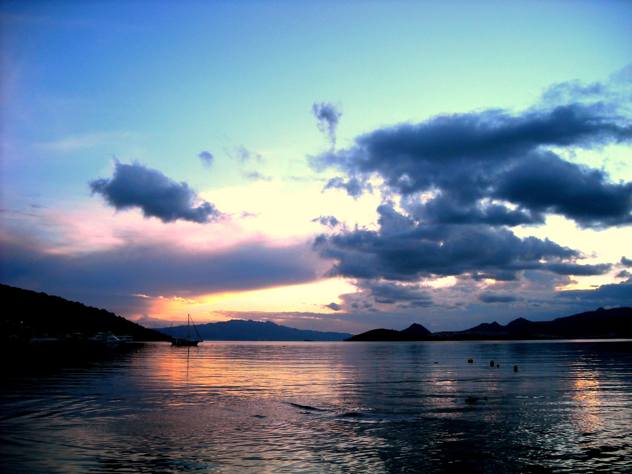 Photo in Landscape #bitez bay #after sunset view #bitez #bodrum #turkey