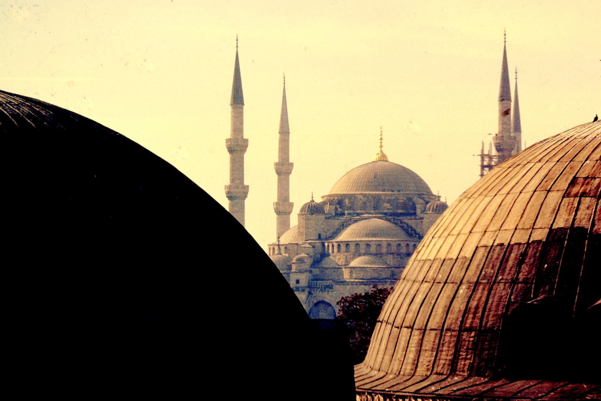 ISTANBUL, CITY OF DOMES AND MINARETS by Akin Saner