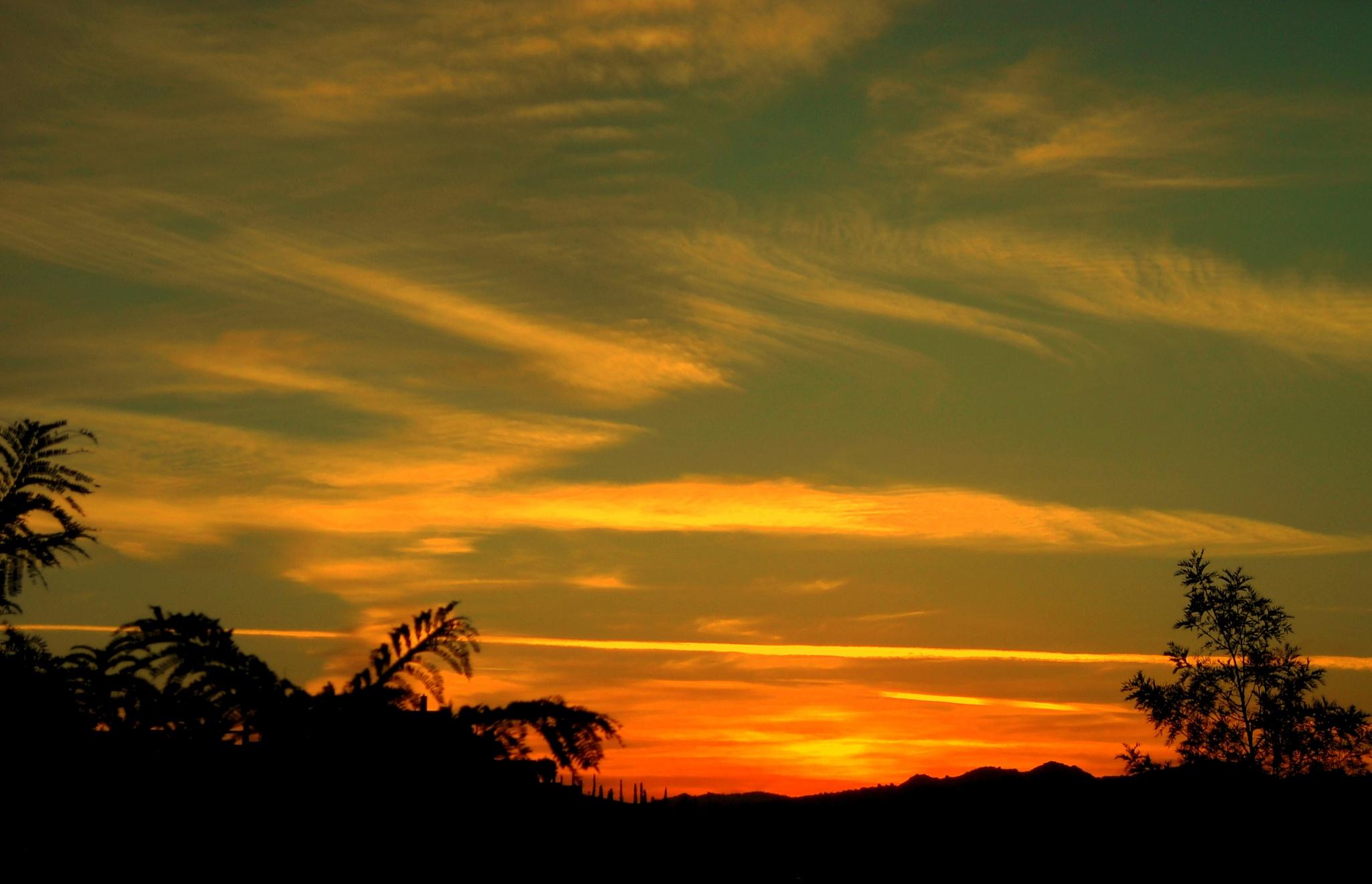 FORGOTTEN SUNSETS 9 by Akin Saner