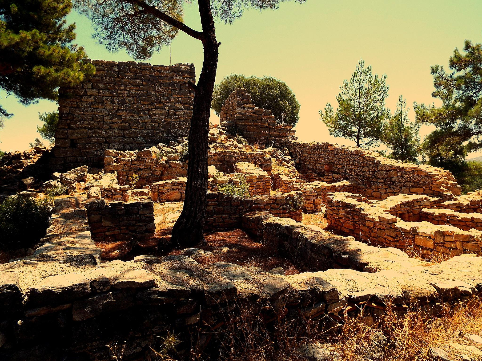 PEDASA ANCIENT CITY CITADEL KONACIK, BODRUM by Akin Saner