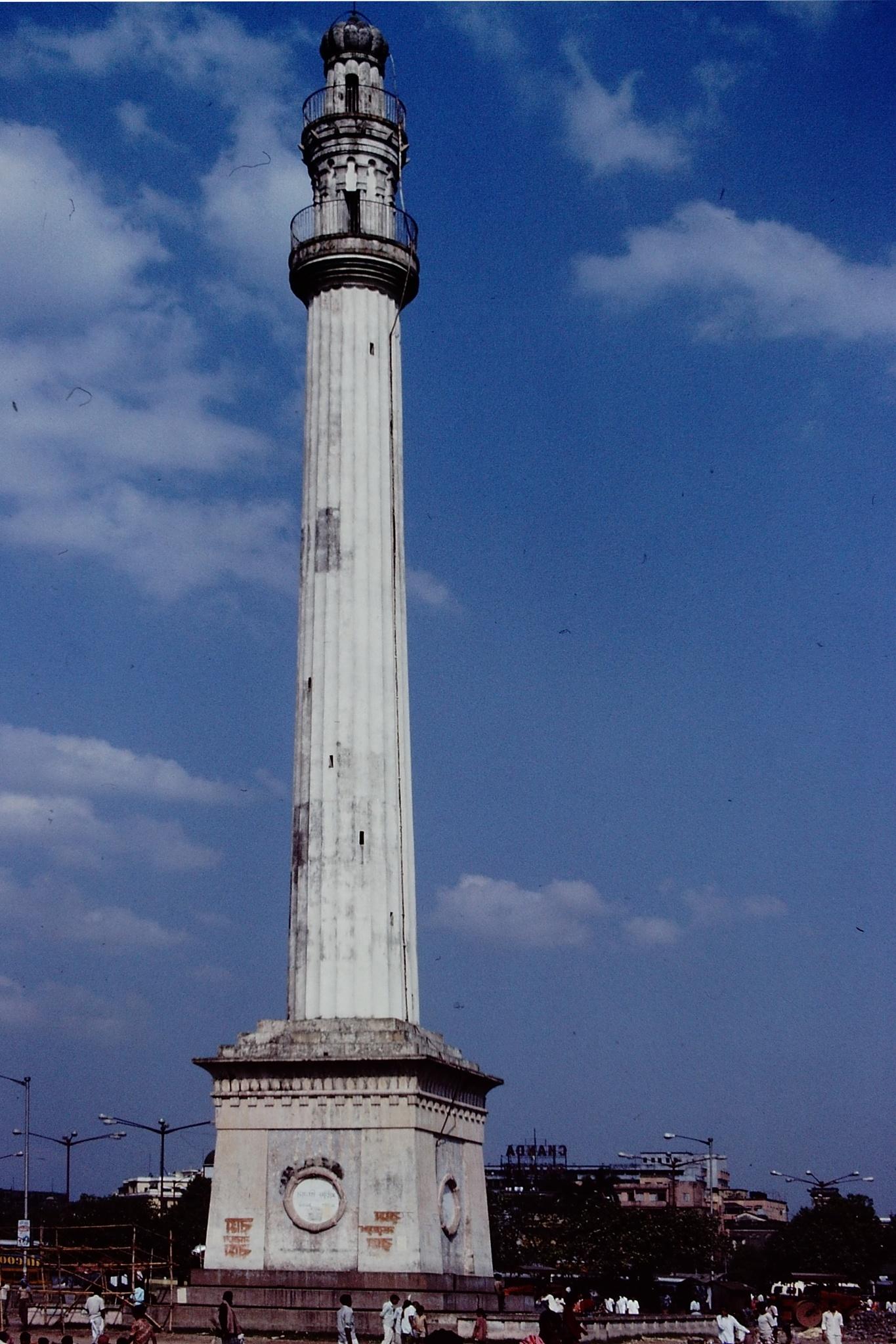 MONUMENT, CALCUTTA, INDIA by Akin Saner