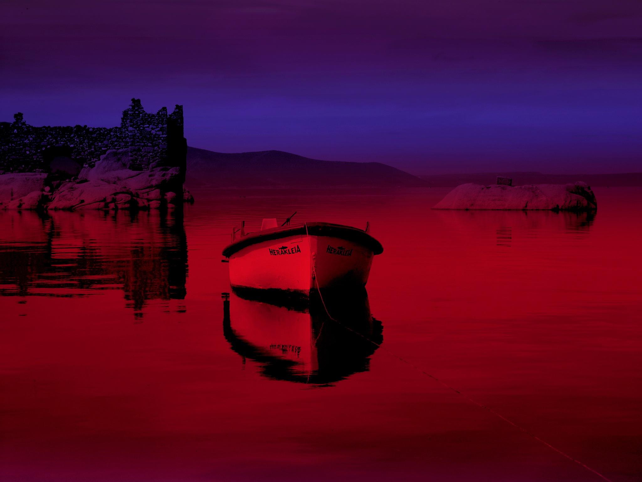 A BEAUTIFUL INSTANT FROM BAFA LAKE, HERAKLEIA by Akin Saner
