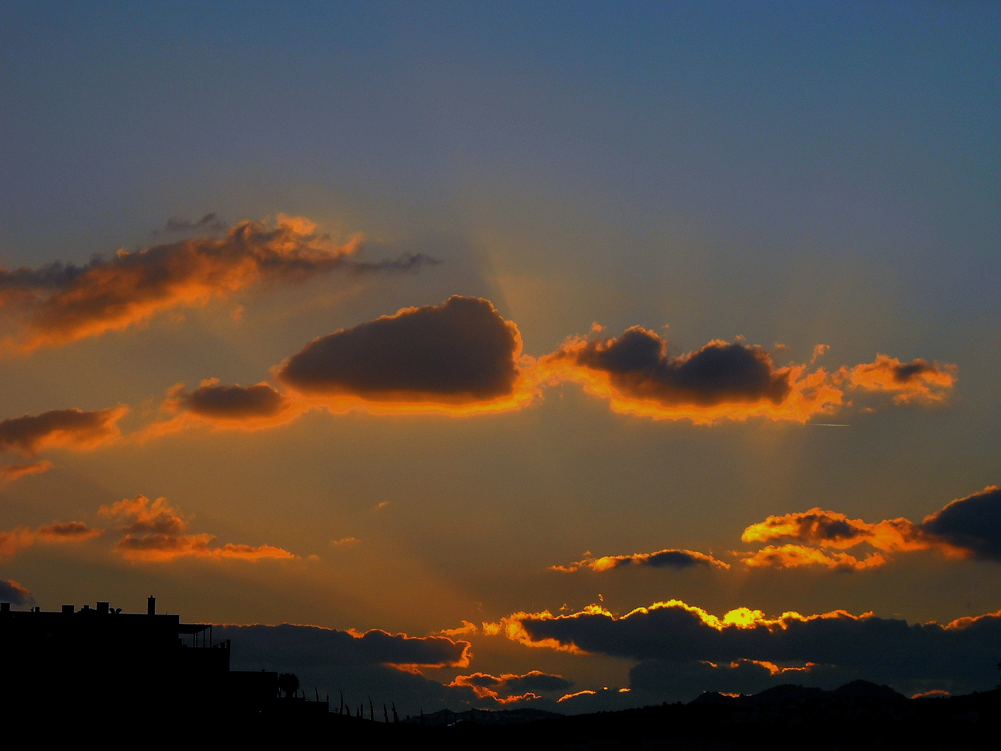FORGOTTEN SUNSETS 74 by Akin Saner