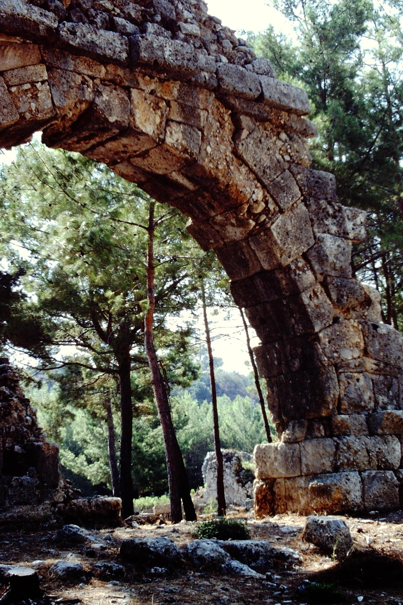 AQUADUCTS, PHASELIS ANCIENT CITY, KEMER  by Akin Saner
