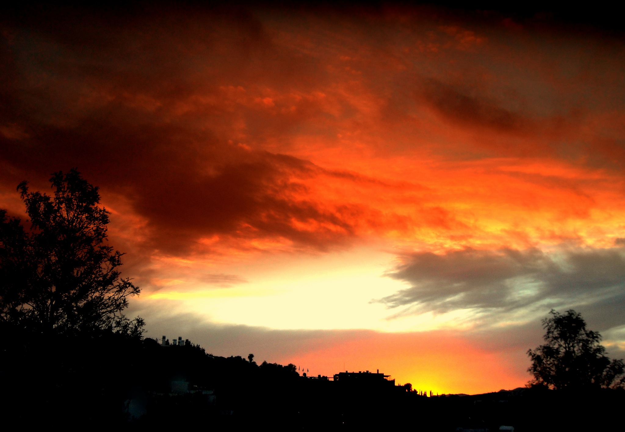 Photo in Landscape #another #beautiful sunset #from #my balcony #bitez #bodrum