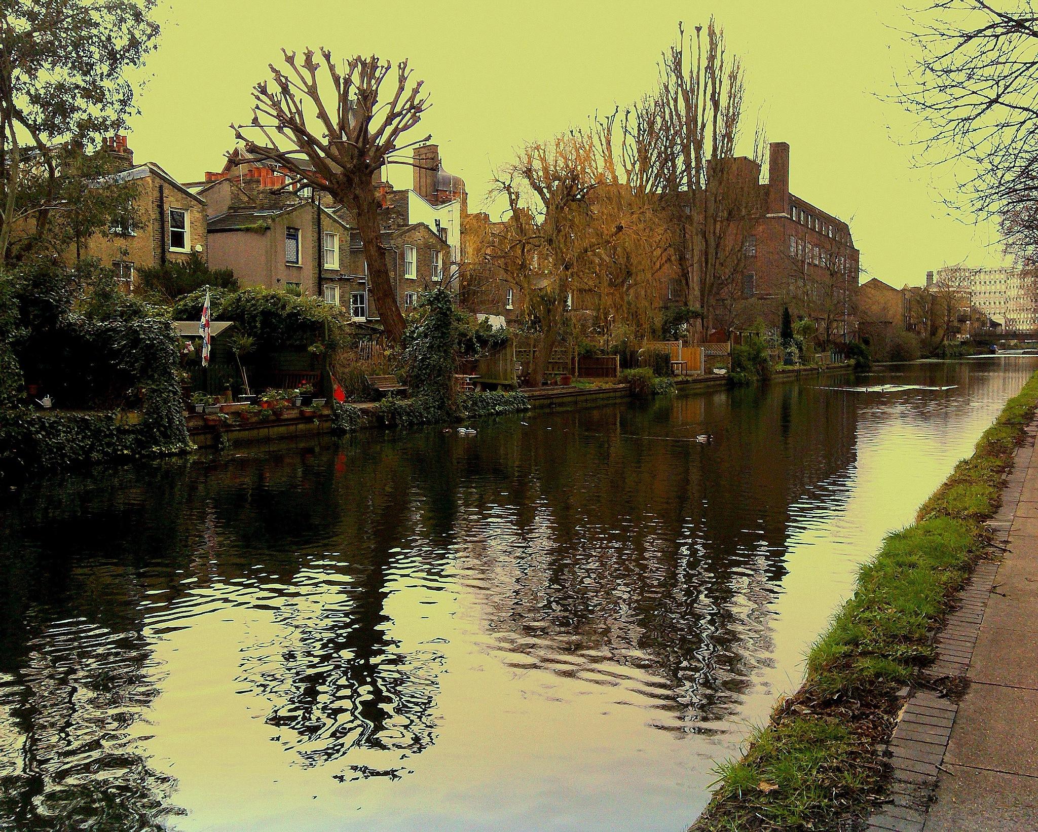 HERTFORD CANAL by Akin Saner
