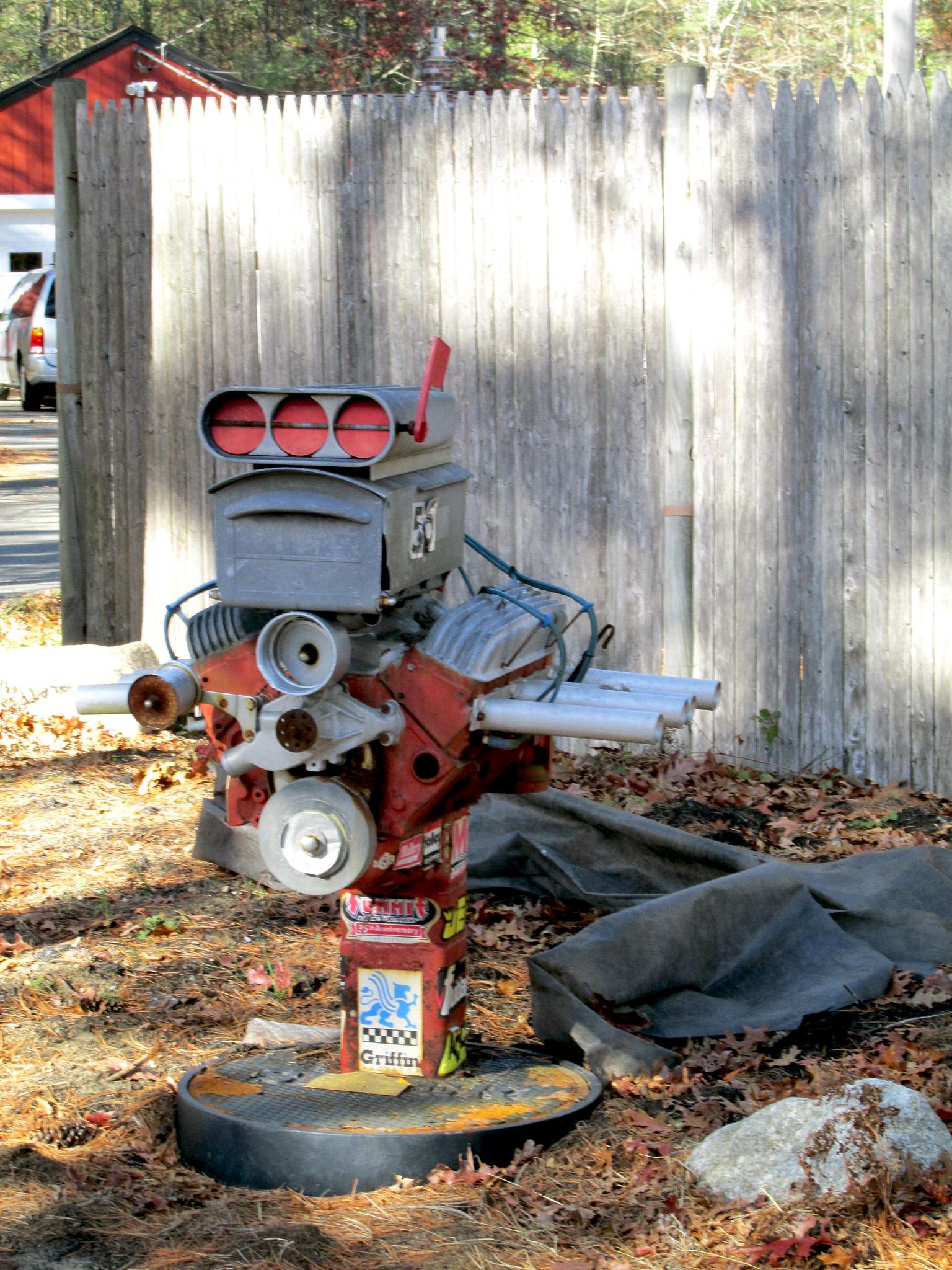 Supercharged mailbox 1 by John Lyon