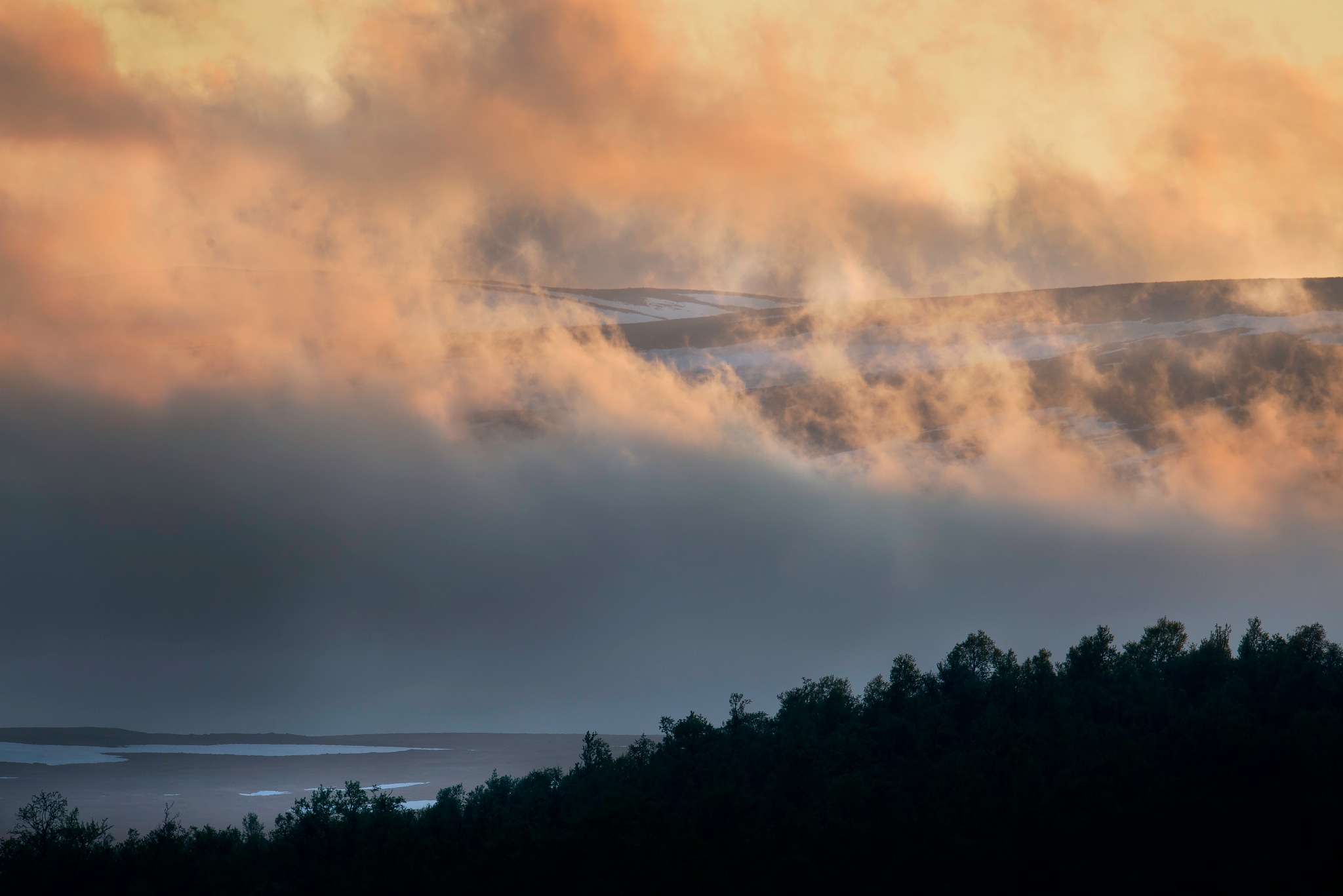 When the fog lightens by Magnus Eriksson