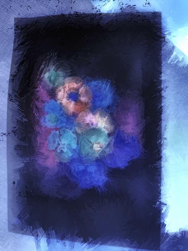 In Blue by Marinela