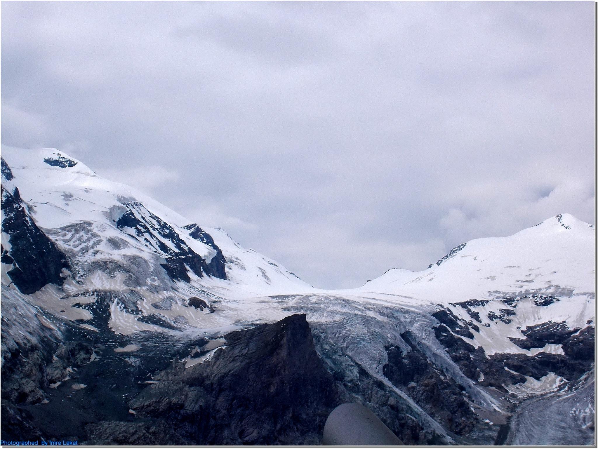Glacier . Grossglockner Hochalpenstraße Heiligenblut, Austria  by Imre Lakat