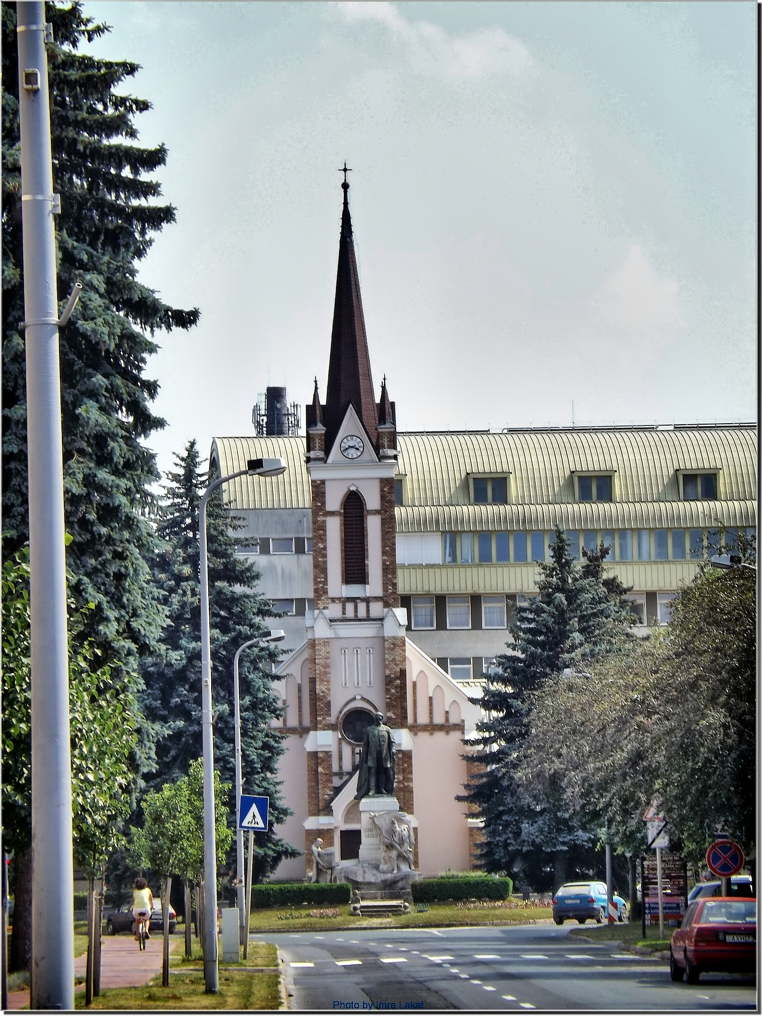Lutherische Kirche in Zalaegerszeg by Imre Lakat