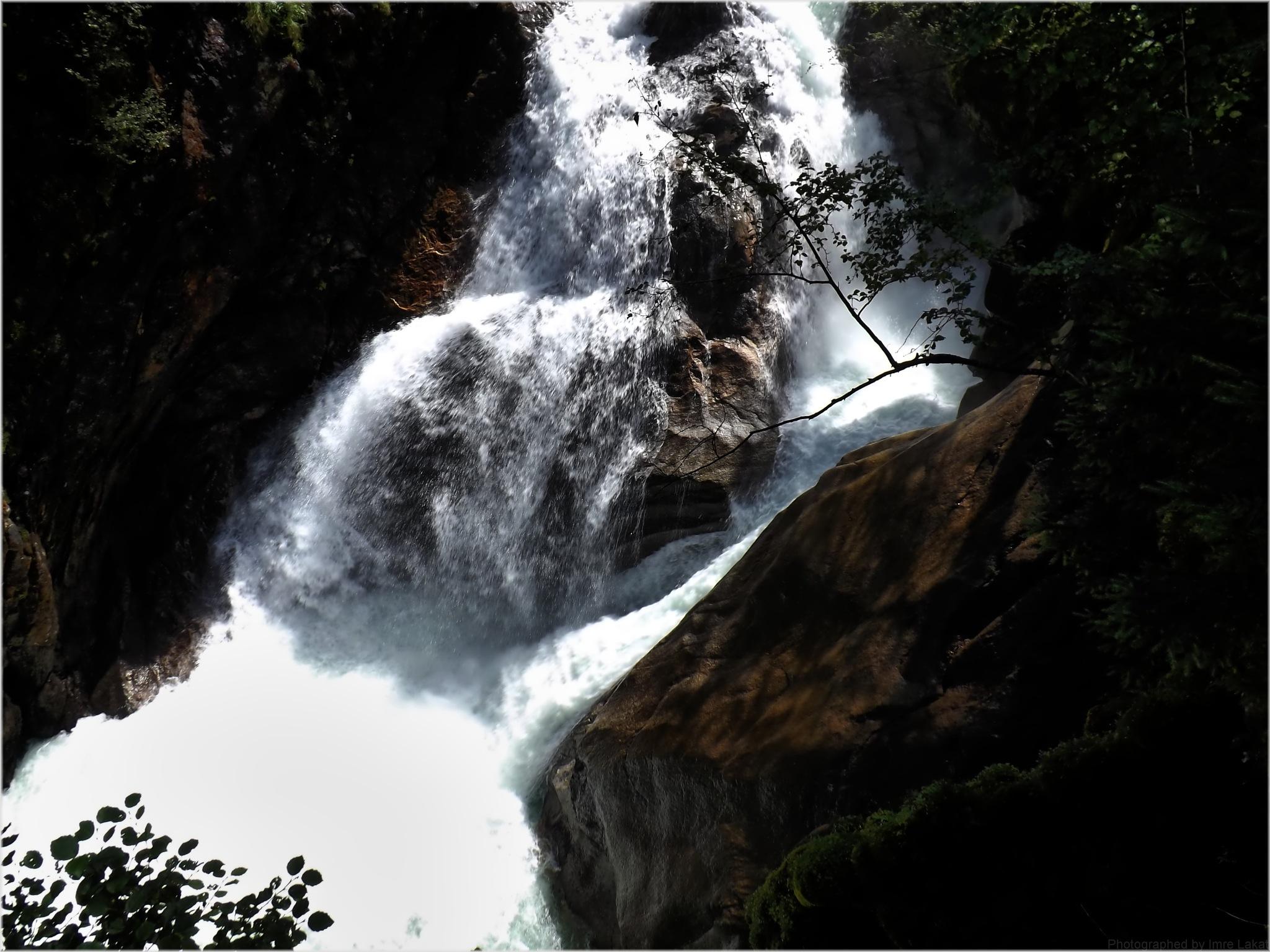 Krimml Waterfall  by Imre Lakat
