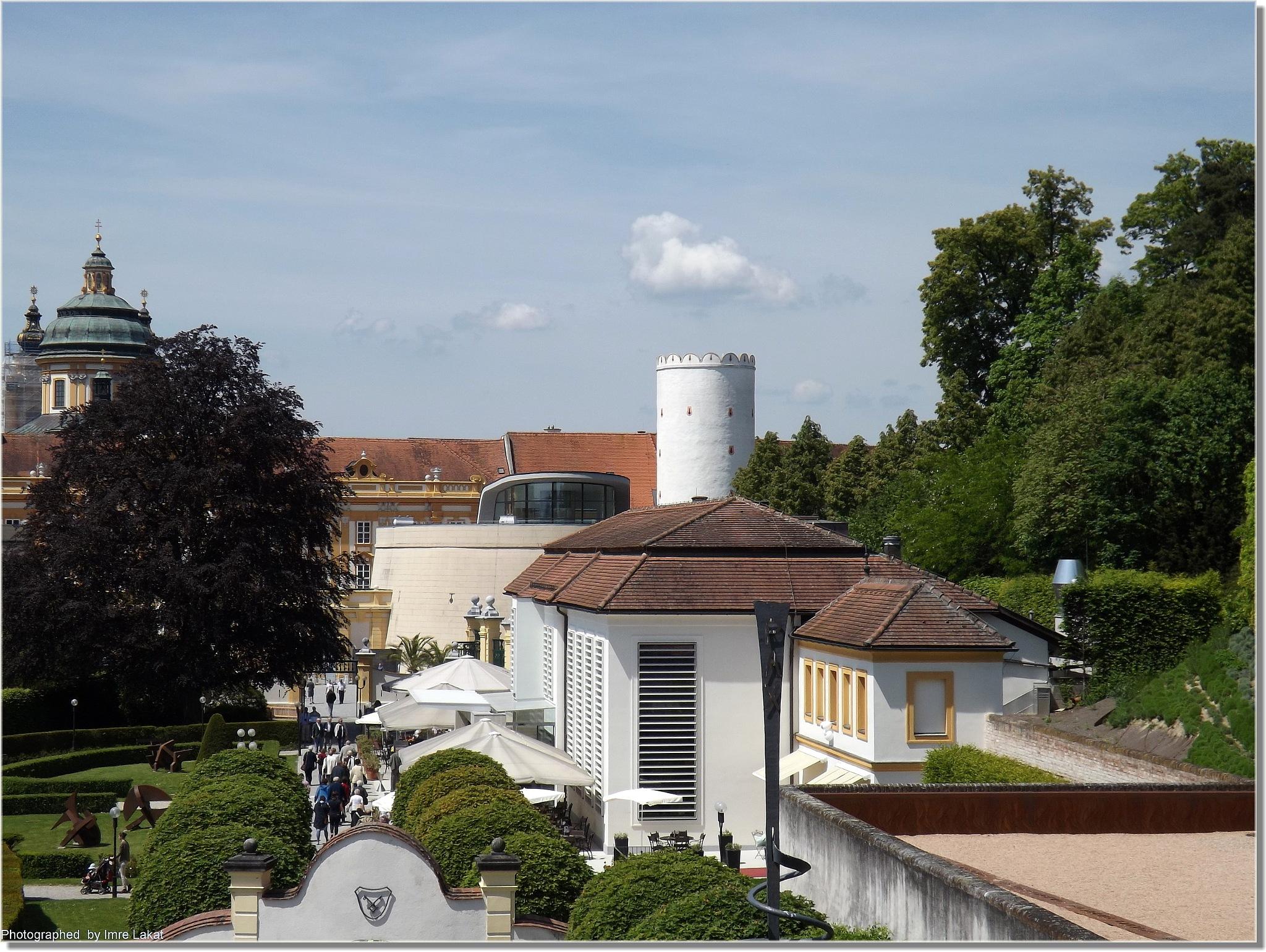 Melk Abbey, Abt-Berthold-Dietmayr-Straße, Melk, Austria by Imre Lakat