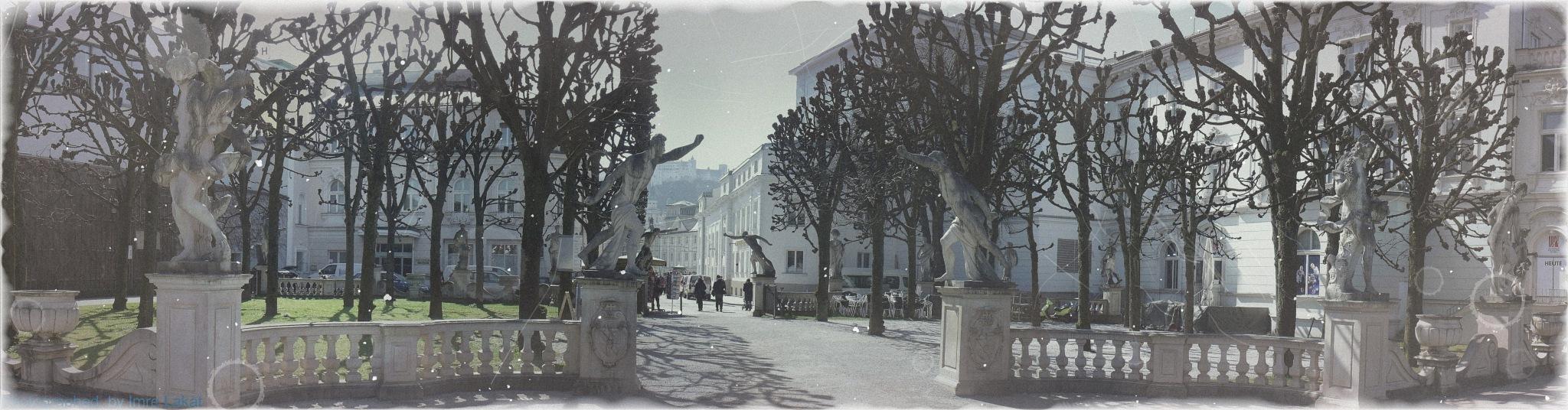 Mirabellgarten . Salzburg by Imre Lakat