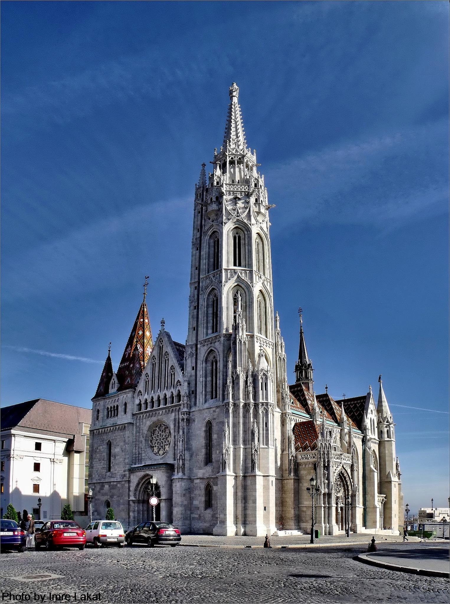 Mátyás Templom, Budapest, Szentháromság tér, Magyarország by Imre Lakat