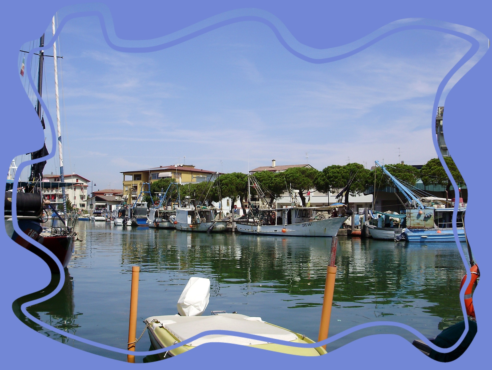 Porto di Caorle  by Imre Lakat