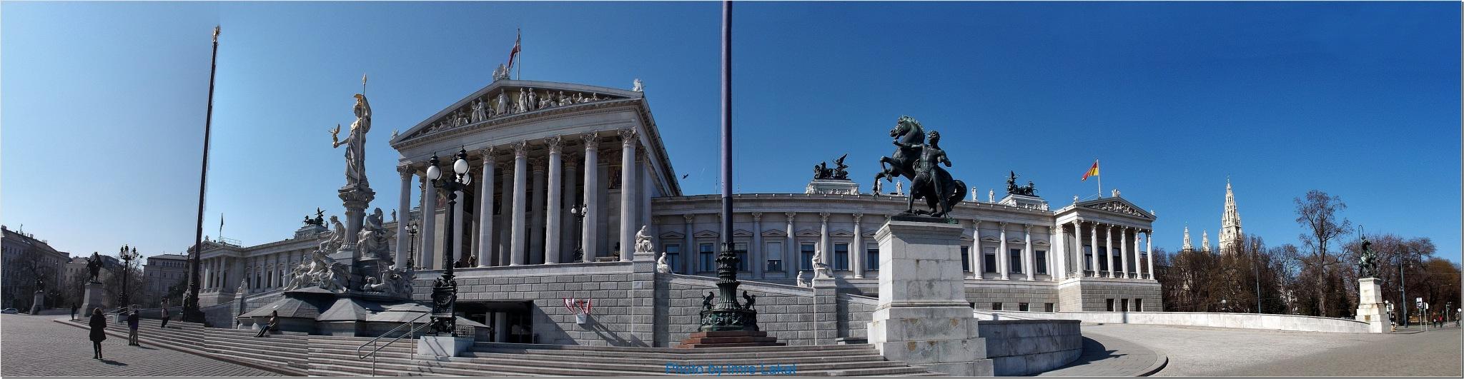 Parliament ...Doktor-Karl-Renner-Ring 3, 1010 Wien, Ausztria  by Imre Lakat