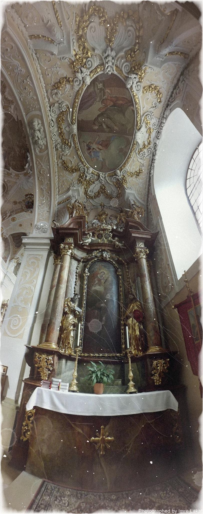 Basilica Mariä Geburt . Kirchenpl. 27, 7132 Frauenkirchen, Ausztria  by Imre Lakat