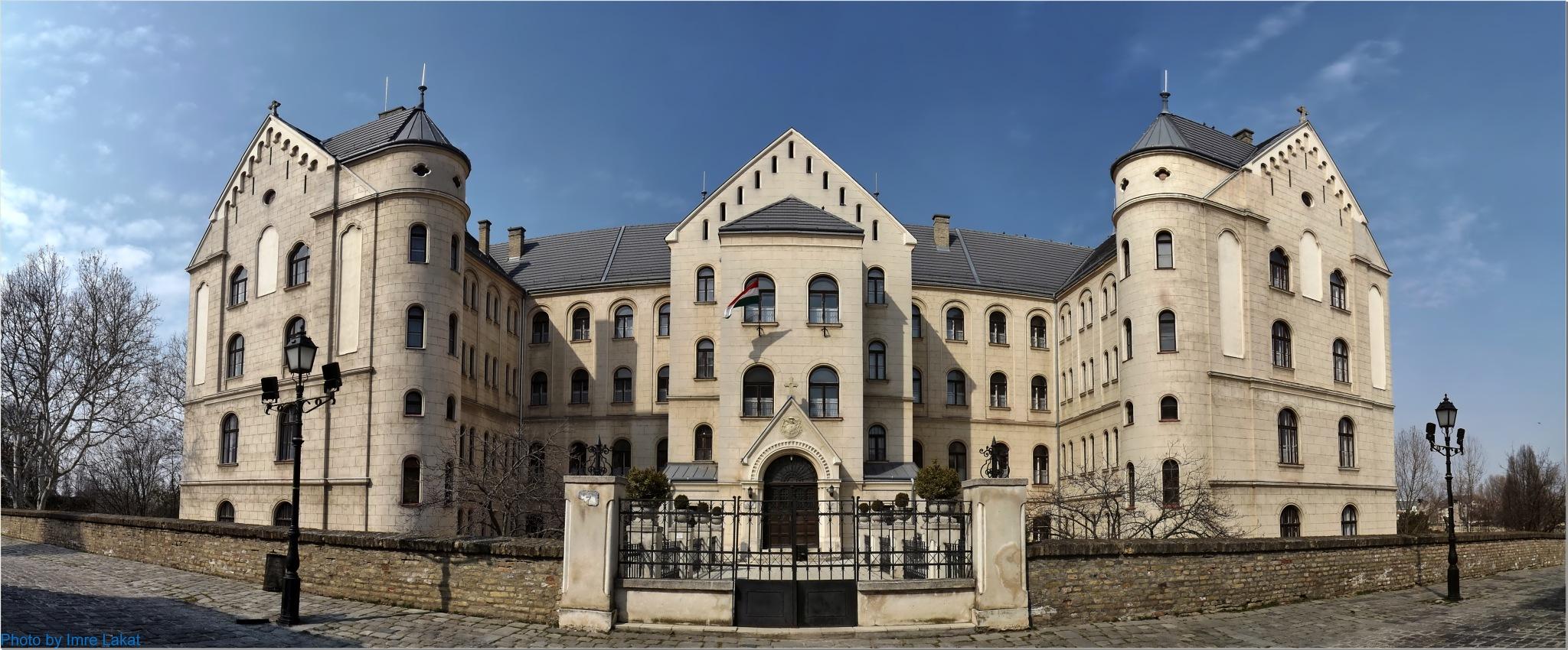Gyori College of Theology. Győr . Győri Hittudományi Főiskola . Győr by Imre Lakat